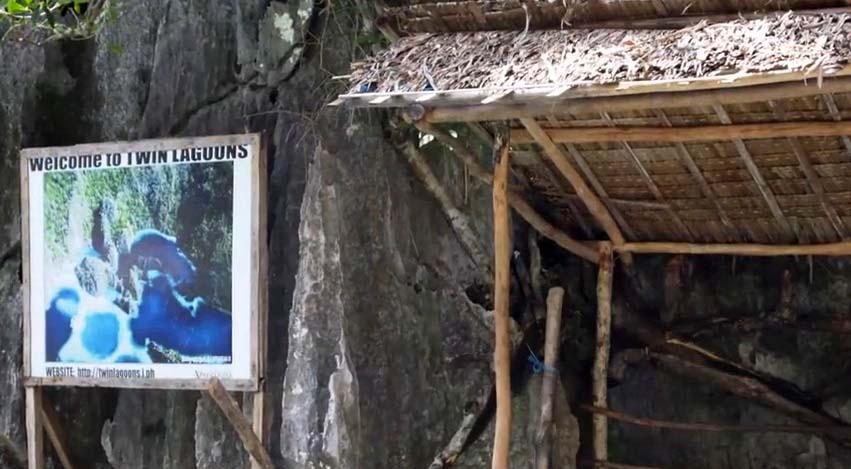 twin lagoons coron palawan